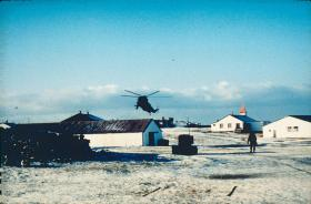Goose Green settlement, after its recapture by 2 PARA, 29-30 May 1982.