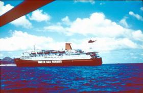 MV Norland, Ascension Island, May 1982.
