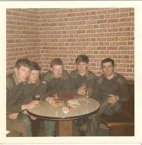 Members of 15 PARA in Germany circa 1971/72