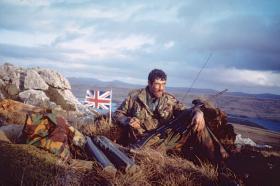 Sgt Chris Howard, 3 PARA Anti-Tank Platoon, San Carlos, Falklands, 1982.