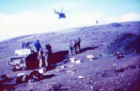 Darwin Hill, 2 PARA, May 1982.