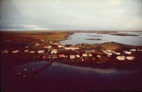 Goose Green, Falklands, 1982.