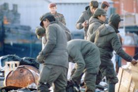 Argentine PoWs, Operation Corporate, Falklands, 1982.