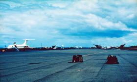 Ascension Island, 1982.