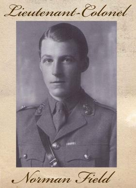 Lt Norman Field 2nd Bn The Royal Fusiliers 1937