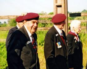 David King and Percy Andrews, Normandy, 2004.