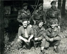 Group photo members of 10th (TA) Battalion (?), 1949
