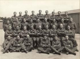 Group portrait of Mortar Platoon, 1st Parachute Battalion, c1942.