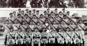 3rd Battalion The Parachute Regiment Warrant Officers' and Sergeants' Mess, Egypt 1954.