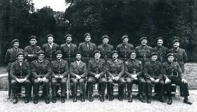 1st Airborne Division HQ Officers Mess, Fulbeck Hall, July 1944
