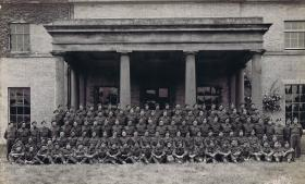 1st (Airborne) Divisional Provost Company at Stubton Hall Nr Newark, May 1944