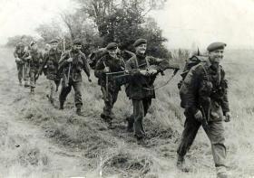 Members of 1 PARA, Cyprus, 1956.