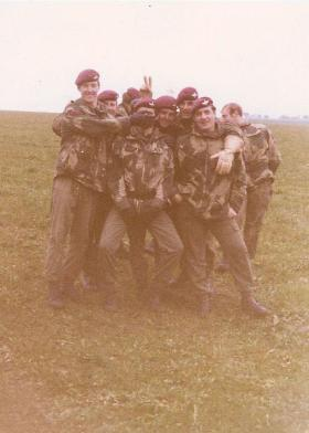 Members of 1 PARA Anti-Tank Platoon circa 1975