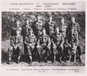 HQ 1st Parachute Brigade, May 1944.