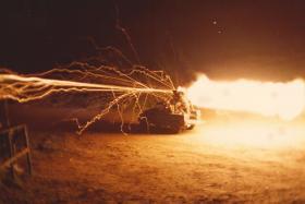 1 Para Anti Tank Platoon - live fire of a Milan