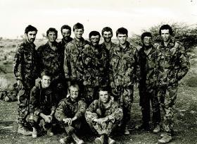 Patrol Platoon, 1 PARA, Oman 1982.