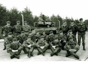 Recce Platoon, 1 PARA, Bulford, c1985.