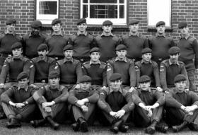 1 Platoon,  A Company, 2 PARA, Ballykinler, 1979.