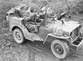 Members of 1 SAS Regiment in Germany, 18 November 1944.