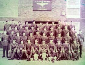4 Platoon, 2 Company, 10th Battalion, The Parachute Regiment (V), date unknown.