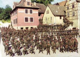 10 PARA, Bonnland Village, Hammelberg, Germany, 1989.