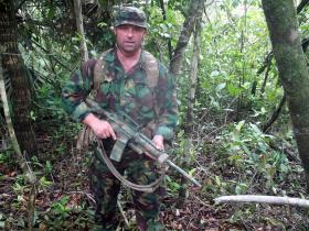 Sgt Tom Blakey, Belize, 2011.