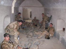 9 Para Sqn RE Search Team, FOB Now Zad, Afghanistan 2008.