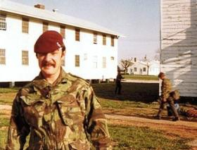 Cpl Hatchman, at Fort Campbell, USA, date unknown.