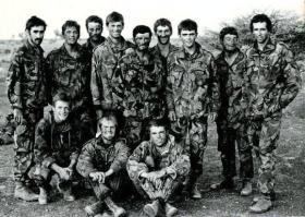 Recce Platoon, 1 PARA, Oman, Date unknown.