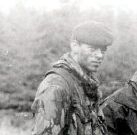 Private Ryan Knight, Glentrool, Scotland, date unknown.