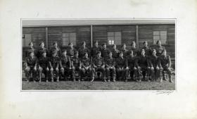 Group Photograph of the Sergeants of A Company, 13th Parachute Battalion, 1945.
