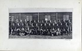 Group Photograph of 1 Platoon, A Company, 13th Parachute Battalion, 1945.