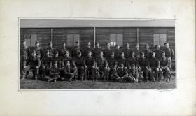 Group photograph of HQ Platoon, A Company 13th Parachute Battalion, 1945.