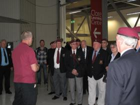 Visit of the East Anglia Branch of the Parachute Regiment Association, Airborne Assault, Duxford, May 2015.