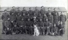Group Photograph of Signallers Platoon, 13th Parachute Battalion, 1945.