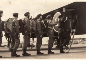 Members of 11 SAS Emplaning