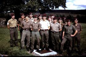 5 Platoon, 2 Coy, 10 PARA, Bellerby, September 1975.
