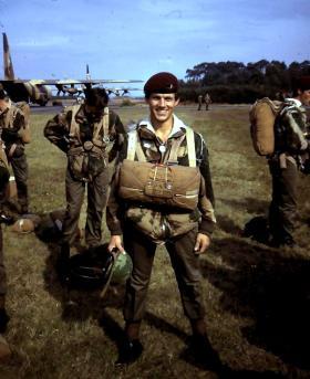 O/Cdt Andy Selfe, RNAF Deelen 20 September 1975.