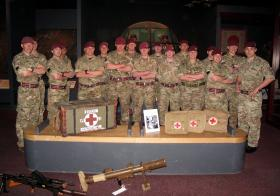 A visit from 16 Med Regt to Airborne Assault, Duxford, April 2015.