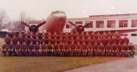 Group photograph of Depot Para 397 Pln, 1973