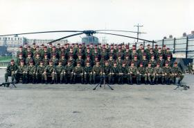 D Coy, 2 PARA, Bessbrook Mill, South Armagh, 1990.