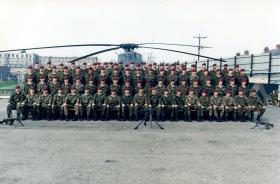 D Coy, 2 PARA, Bessbrook Mill, South Armagh, 1990.
