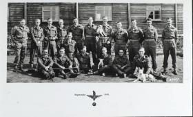 Group photograph of the Officers of 13th Parachute Battalion, September 1944.