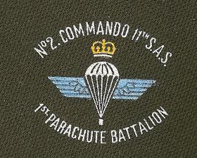 No 2 Commando 11 SAS Association Tie Emblem(circa 2003)