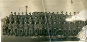 Group photograph  of Officers from 12th Bn, The Devonshire Regiment, November 1944