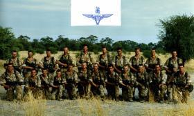 2 Para, D-Coy, 12 Pln. Botswana. 1991