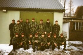 2 Para, D-Coy, 12 Pln. Scotland. 1994