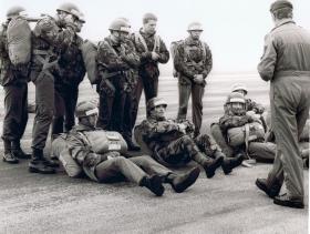 HRH Prince Charles on Course 841A, RAF Brize Norton, 17-28 April 1978.