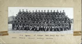 Group Photograph of HQ Squadron, 6th Airborne RECCE Regiment R.A.C