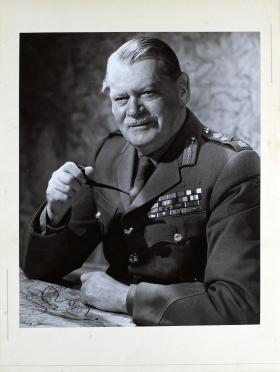 Portrait of Major General Richard Gale